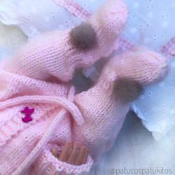 Conjunto de bebé ( pelele+sandalias)