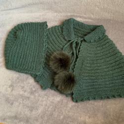 Pompones de pelo natural